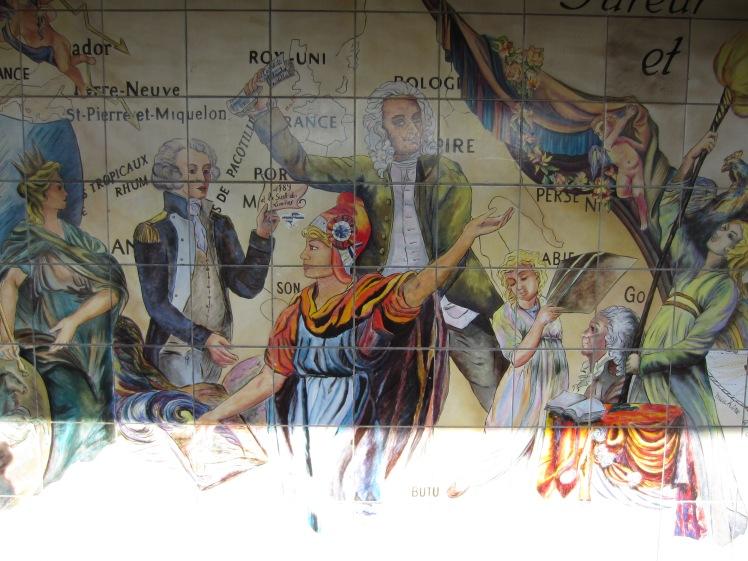 bastille metro public art