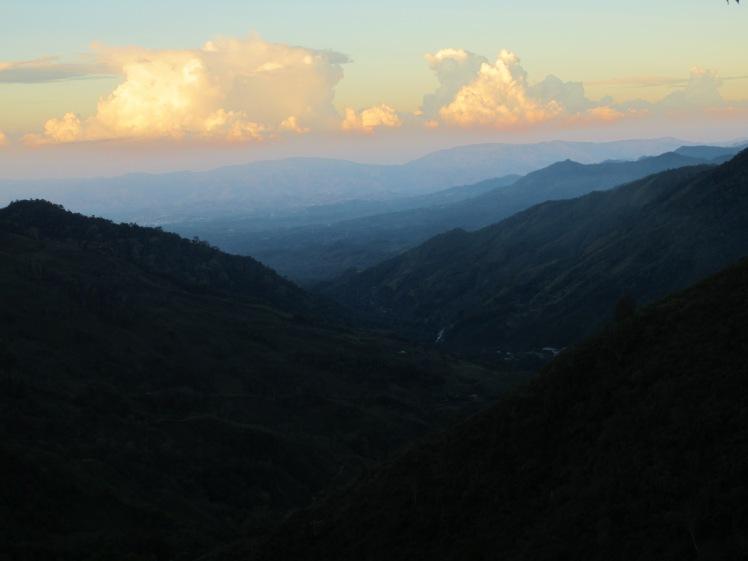 Beginning the Chirripo hike