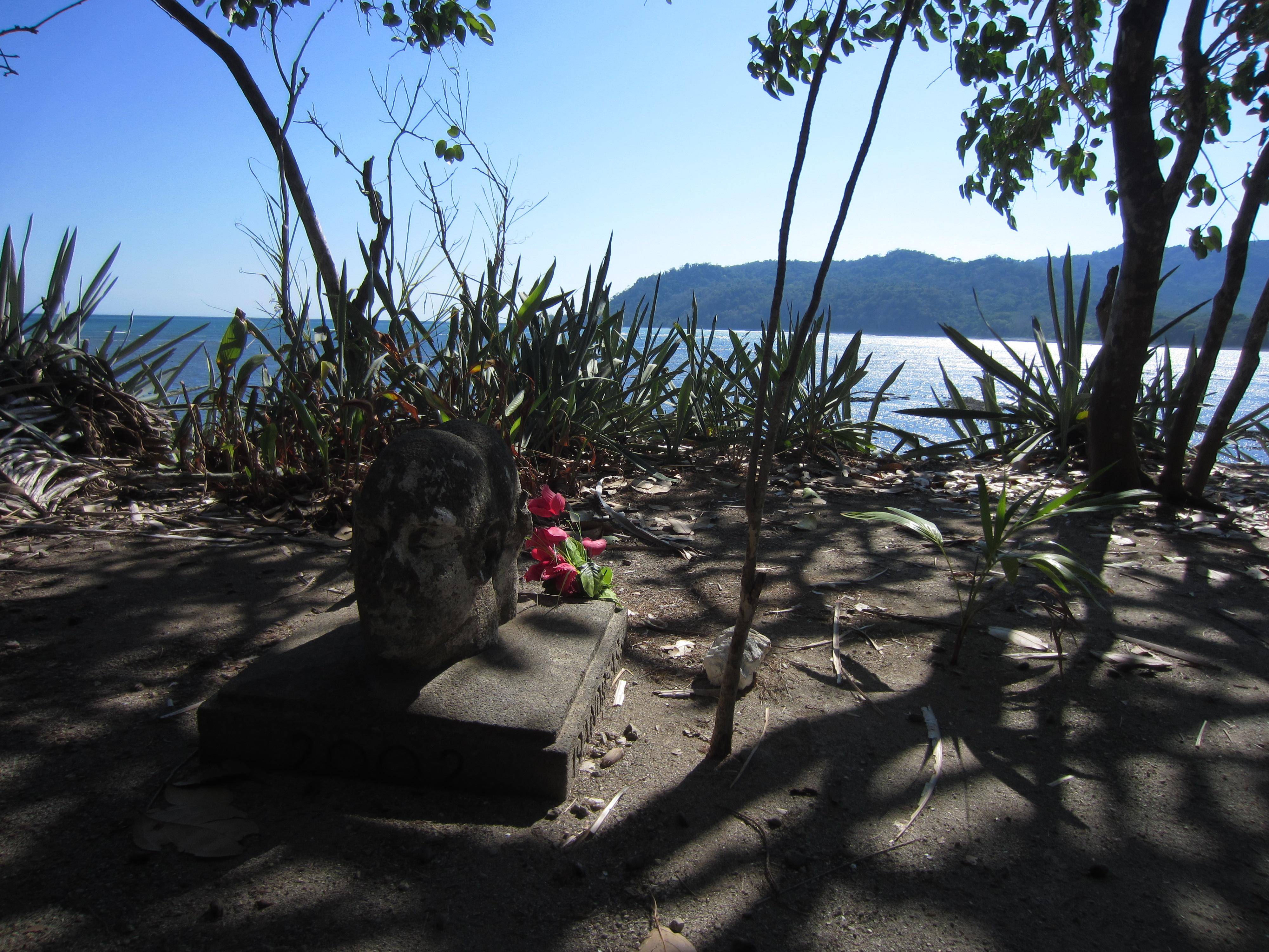 Cemetary 'headstone'