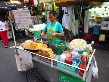 Breakfast, lunch and dinner, Bangkok-style.