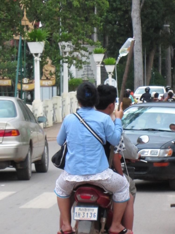 Cambodian ambulance?
