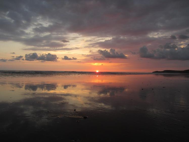 Sunset, Uvita,  Costa Rica