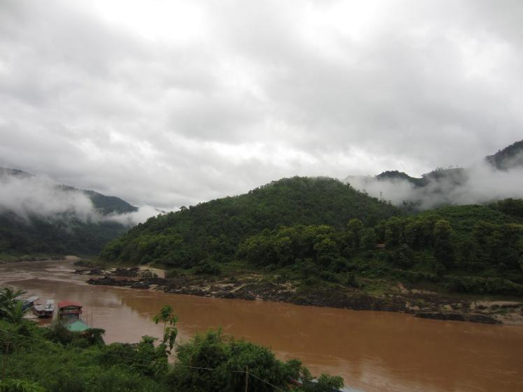 The Mekong at Pak Beng