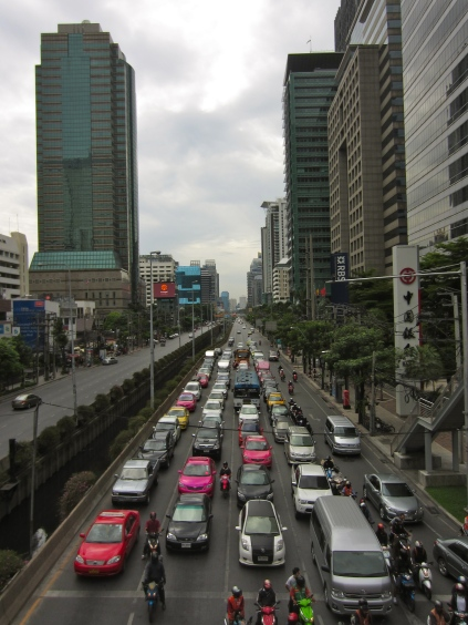 Bangkok's finest traffic