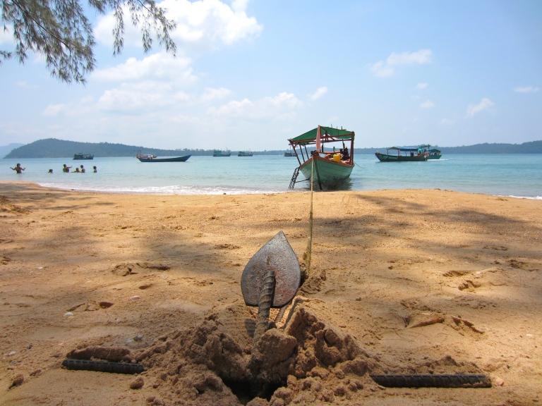 One of the islands near Sihanoukville
