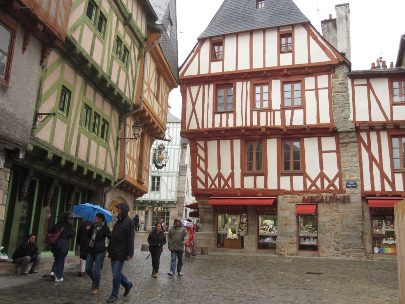 Vannes – a step back in time to medieval France