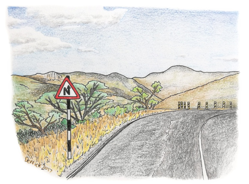 Driving the baobab highway inTanzania