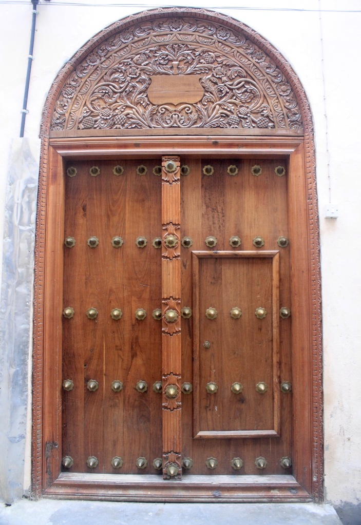 A wonderful Zanzibar door design