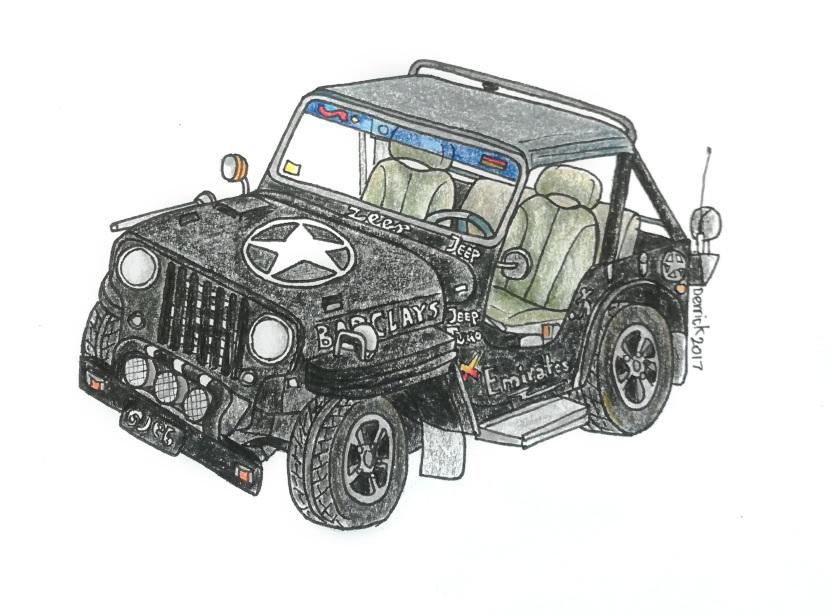 Jeeps of Mandalay