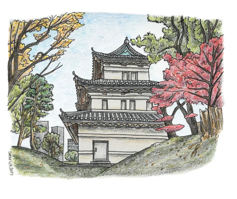 An illustrated guide to the Tokyo ImperialPalace