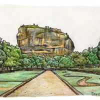 Conquering Sigirya, Sri Lanka's historic rock fortress