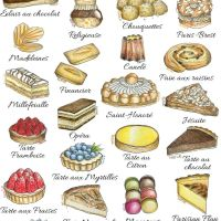 French Pastries and Cakes - A Complete Illustrated Guide