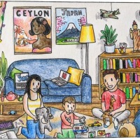 Taking the Coronamaison Illustration Challenge