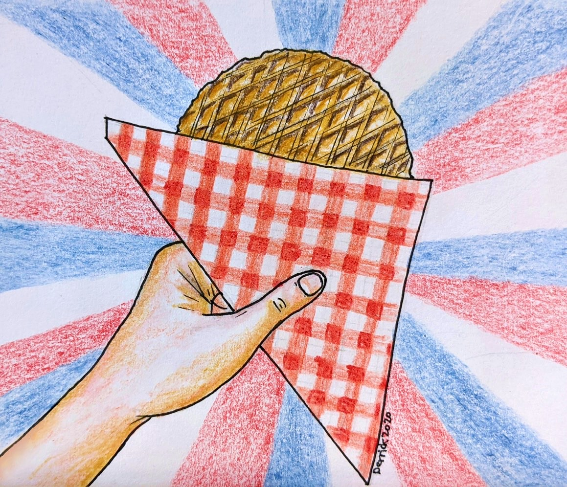 The Netherlands Market Street food stroopwafel waffle