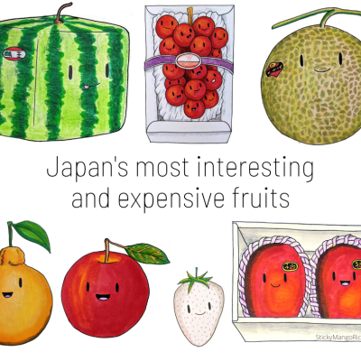 Kawaii fruit japanese worlds most expensive fruit