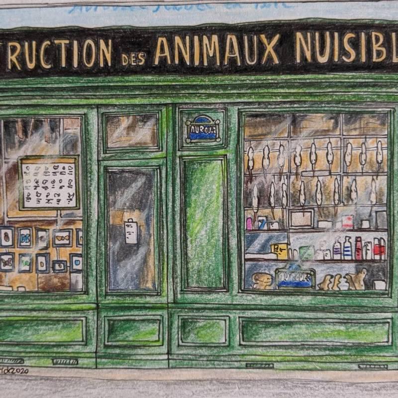 destruction des animaux nuisibles ratatouille pest control store in paris
