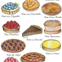 French Tarts and Sweet Desserts: The Illustrated Guide