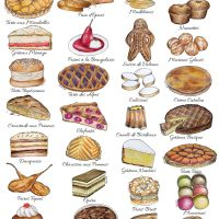 French Desserts By Region - The Illustrated Guide To Cakes And Sweets In France