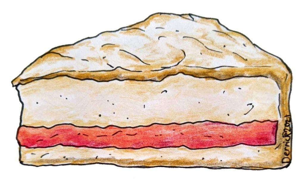 Illustration of gateau de menage french cake dessert
